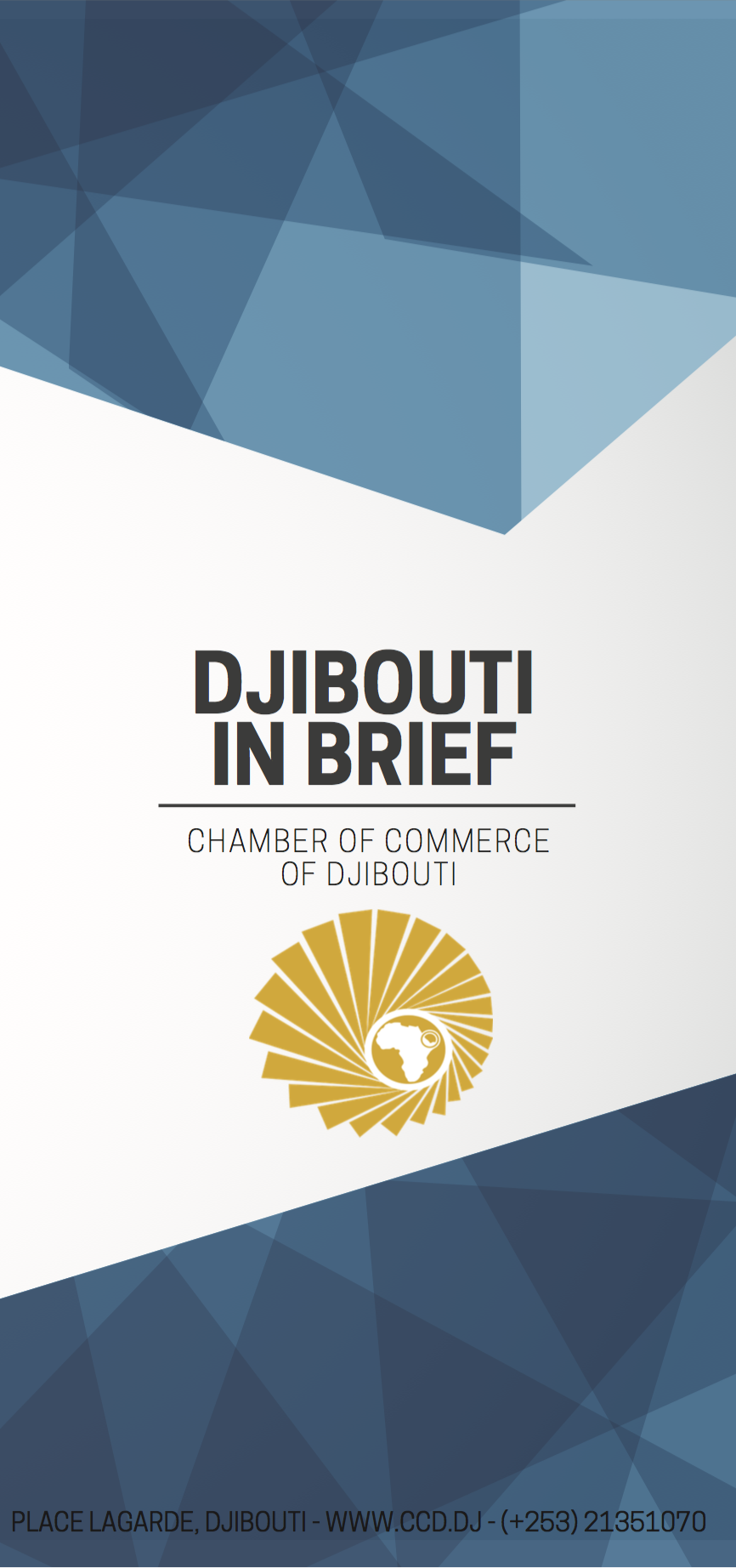 « Djibouti In Brief » pamphlet