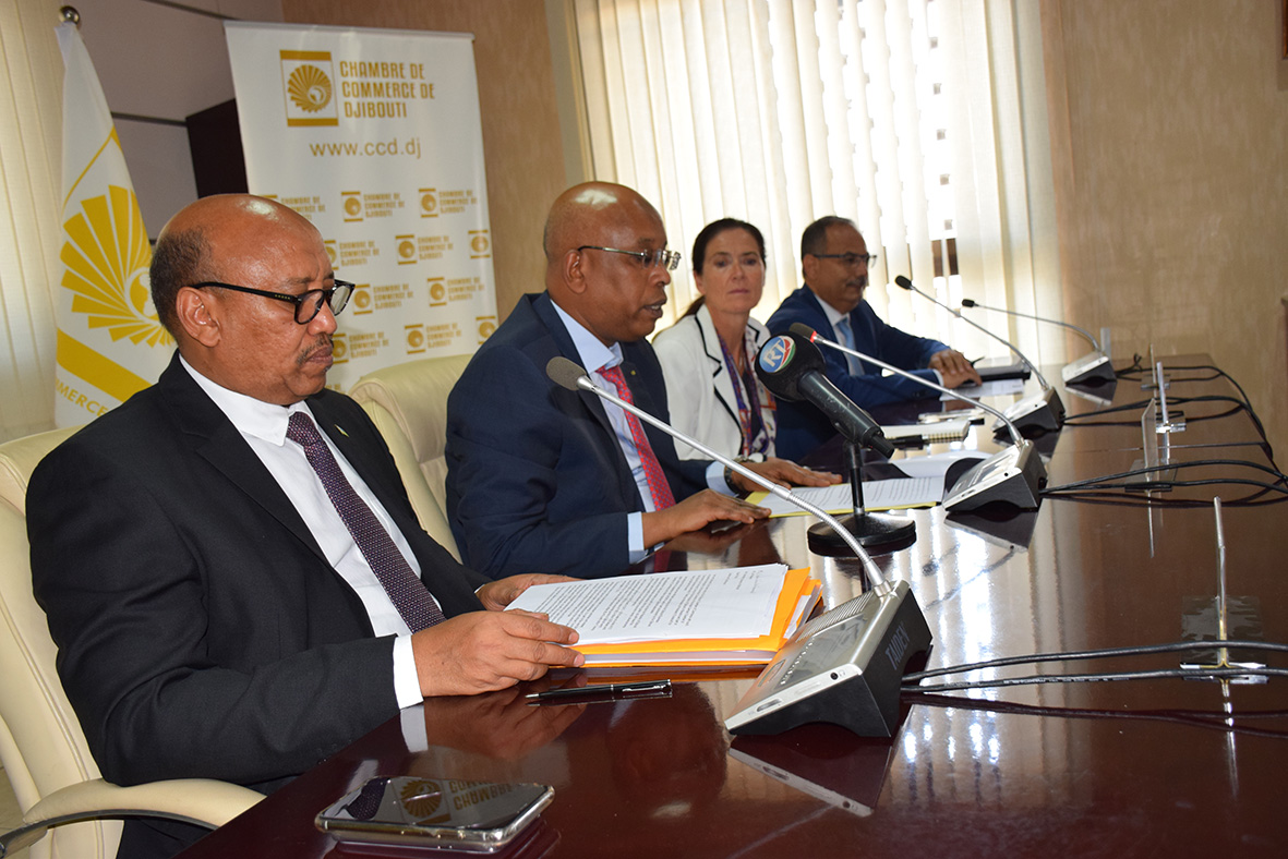 LANCEMENT DU DJIBOUTI BUSINESS GUIDE  CHAMBRE DE COMMERCE DE DJIBOUTI – 27 OCTOBRE 2019